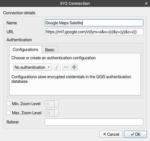 xyz-connection