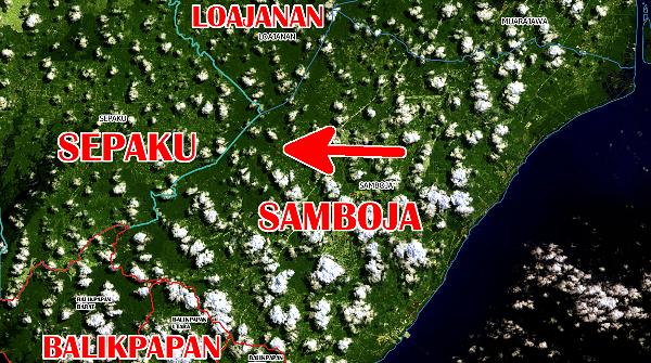 Samboja dan Sepaku daerah Ibukota Baru